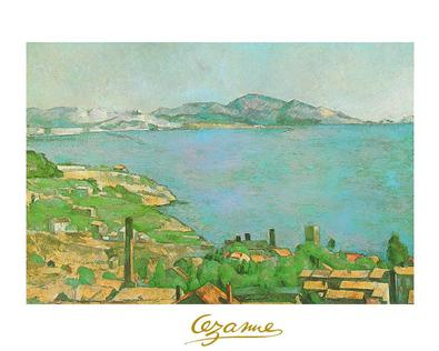 Cezanne paul der golf von marseille large