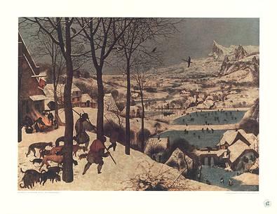 Pieter Brueghel Der Winter (Jaeger im Schnee)