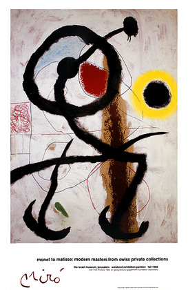 Joan Miro The Bird, 1960 (gross)