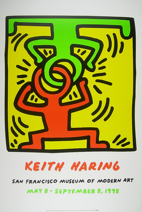 Keith Haring Drawing for Headstand (1988)