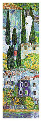 Gustav Klimt Chiesa a cassone sul garda