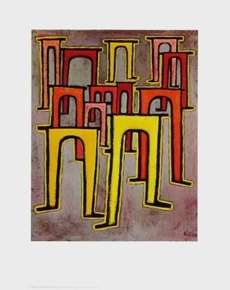 Paul Klee Viadukte tanzen aus der Reihe