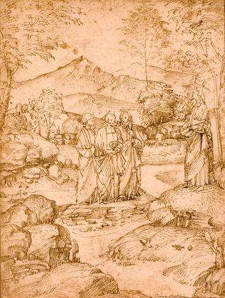 Marco Basaiti Abschied Christi