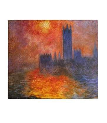 Claude Monet Das Parlament