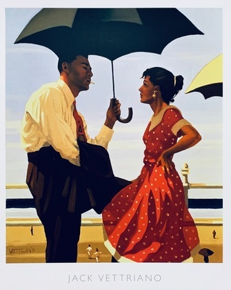 Jack Vettriano Bad boy, good girl