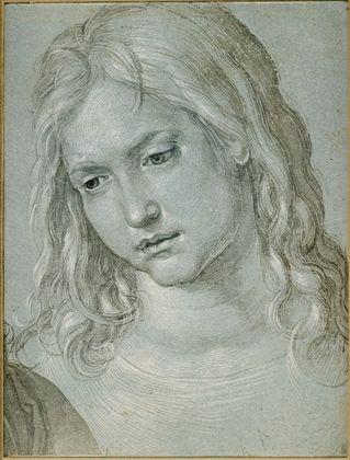 Albrecht Duerer Kopf des zwoelfjaehrigen Jesus