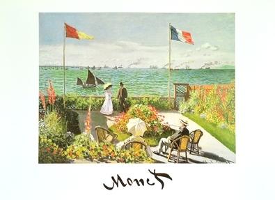 Claude Monet Terrazza sul mare a Saint Adresse  1867