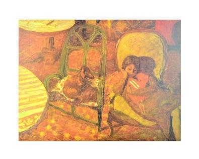 Pierre Bonnard The Vigil 1921