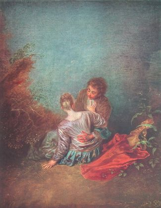 Antoine Watteau Im Sommer