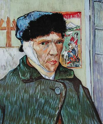 Vincent van Gogh Selpstportrait mit bandagiertem Ohr