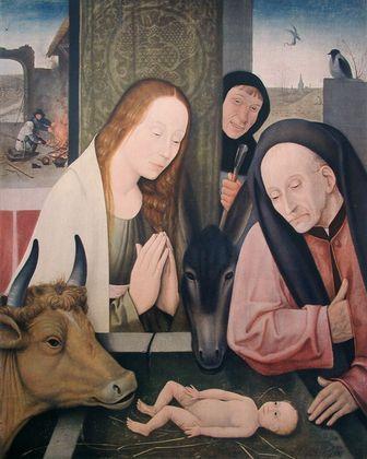 Hieronymus Bosch Geburt Christi