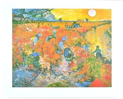 Vincent van Gogh Der rote Weinberg