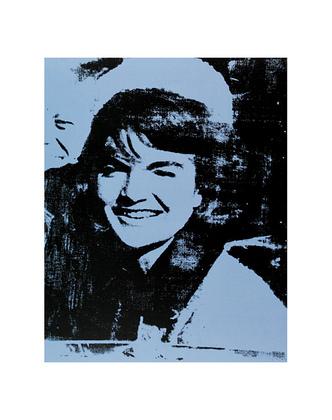 Andy Warhol Jackie, 1964 (blue)