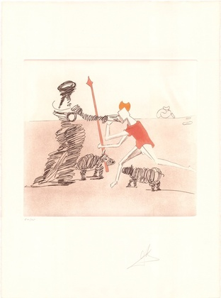 Salvador Dali Don Quijote (F) - Pastorale