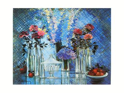 Michel Henry Cristal Et Transparence Bleue