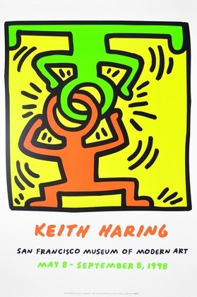 Keith Haring Drawing for Headstand