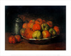 Courbet gustave still life with apples and a pomegranate medium