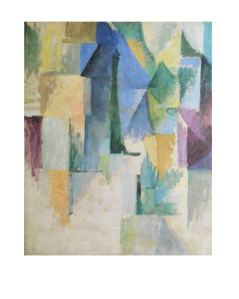 Robert Delaunay Fensterbild