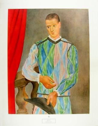 Pablo Picasso Harlequin, 1917