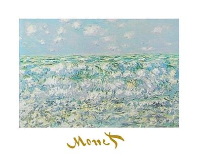 Claude Monet unruhiges Meer
