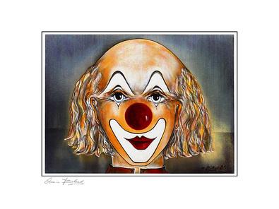 Armin Birkel Clown Studie II