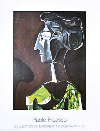 Pablo Picasso Grand Profil