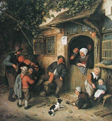 Adriaen van Ostade Dorfmusikant   1673