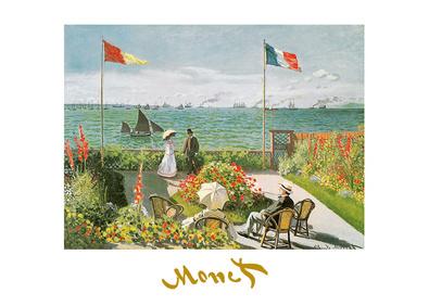 Claude Monet Terazza sul mare a Saint-Adresse