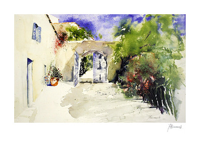 Jeanette Haemmerle Haus in der Provence