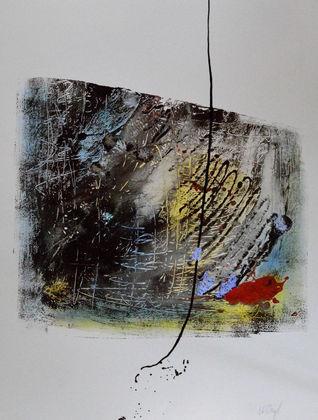 N. Vogt Silvester an der Berliner Mauer