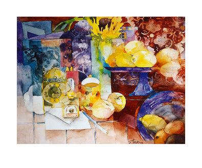 Shirley Trevena Very Yellow Lemons