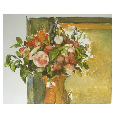 paul cezanne blumen in der vase poster kunstdruck bei. Black Bedroom Furniture Sets. Home Design Ideas