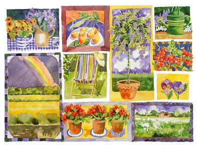 Jennifer Abbott Garden Seasons II