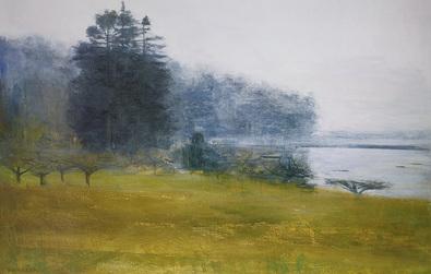 Kurt Solmssen Trees in fog and mist