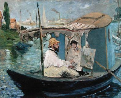 Edouard Manet Die Barke  1874