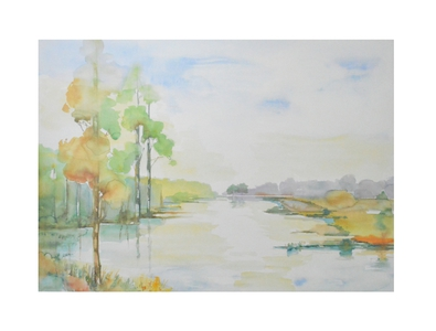 H. Heymans Flusslandschaft I