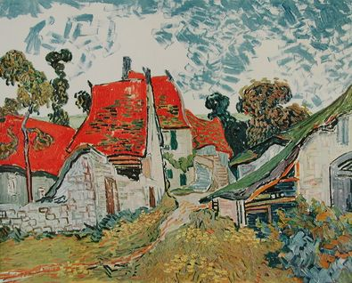 Vincent van Gogh Strasse in Auvers