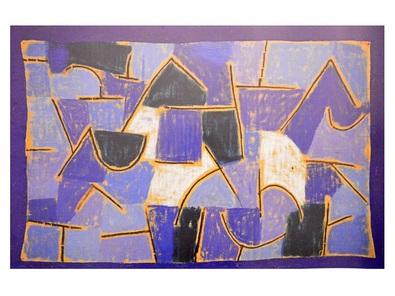 Paul Klee Blaue Nacht