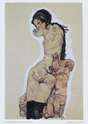 Egon Schiele Mutter und Kind   1910