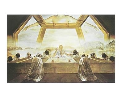 Salvador Dali Das letzte Mahl