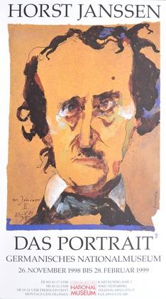 Horst Janssen Edgar Allen Poe 174