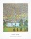 Gustav Klimt Unterach am Attersee (mit Titel)