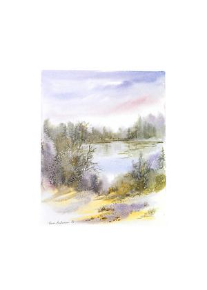 Karin Andersen Landschaft Nr. 6