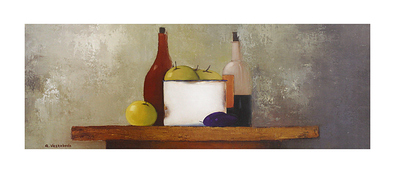 Anouska Vaskebova 2er Set 'Composition with Fruits I + II'