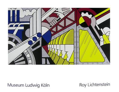 Roy Lichtenstein Study for Preparedness