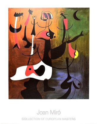 Joan Miro Personnages Rythmiques