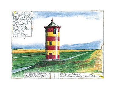 Sabine Gerke Der Leuchtturm von Pilsum