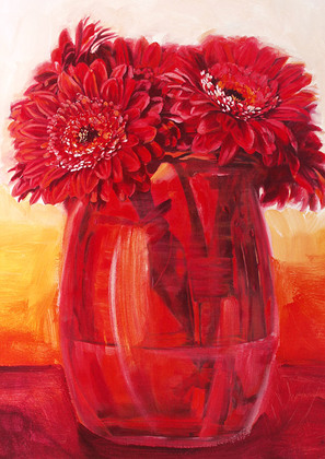 Gilles Legris Red Flower Power