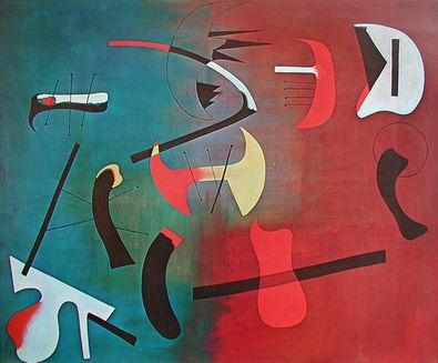 Joan Miro Composition 1933