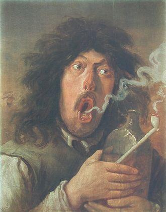 Adriaen Brouwer Der Raucher